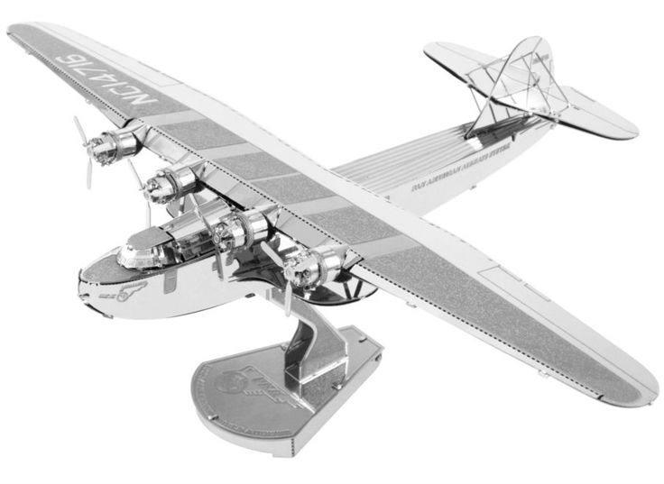 3D kovové puzzle METAL EARTH Pan American World Airways: China Clipper