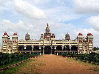 Palácio de Mysore – India