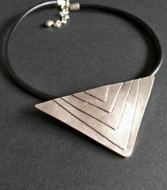 Hey, I found this really awesome Etsy listing at https://www.etsy.com/listing/477891018/leather-necklace-antique-silver-plated