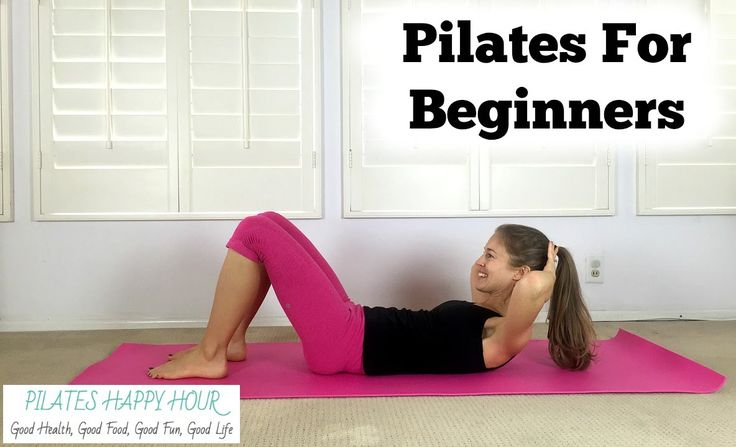 Pilates for Beginners - Beginner Pilates Mat Exercises