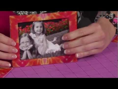 How to make a Duck Tape brand duct tape Picture Frame! kids