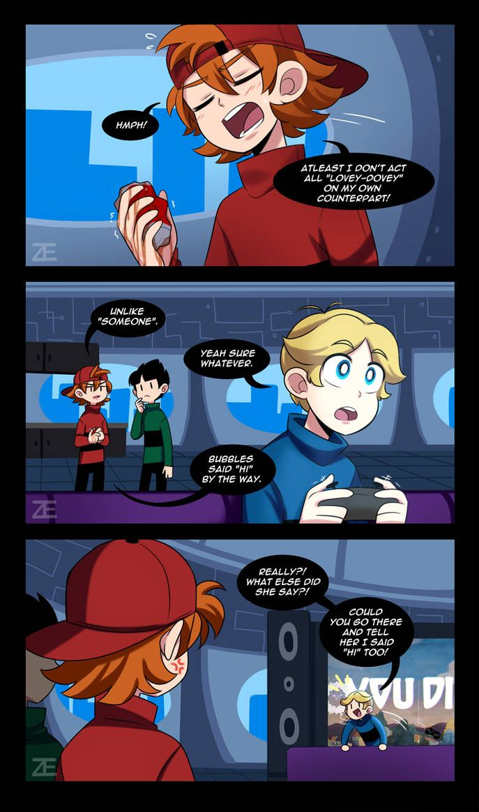 Ppg Ttt Page 13 By Misterzei Powerpuff Girls Fanart Powerpuff