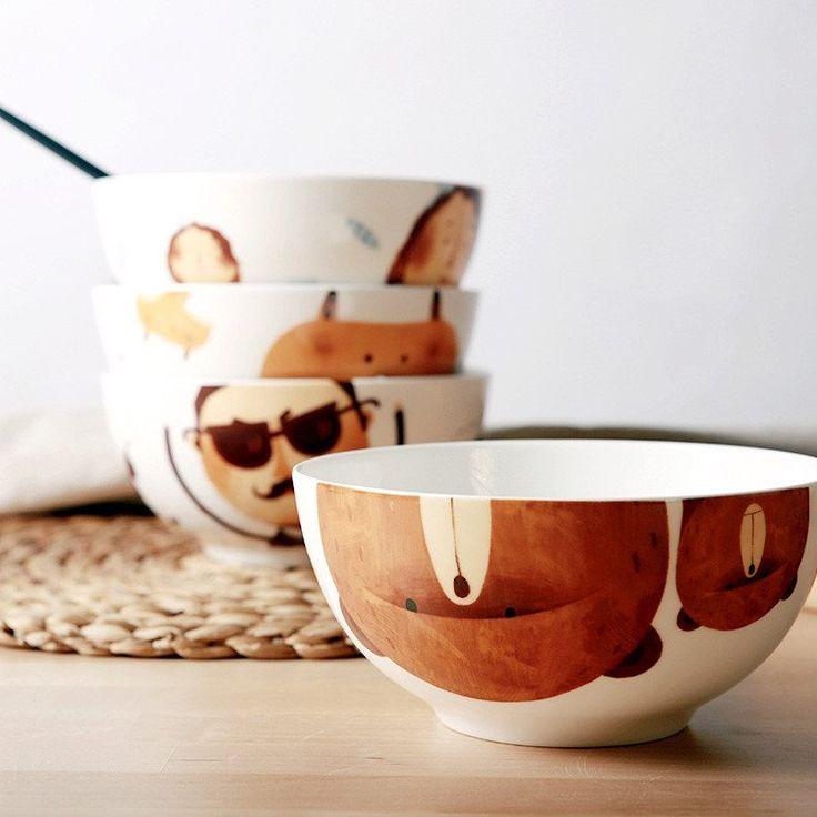 The Character Bowls #Bowls