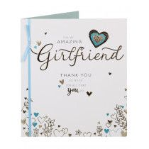 Amazing Girlfriend Mother's Day Card