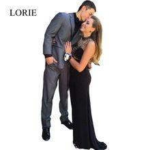 2017 weiß Rot Lange Prom Kleider Meerjungfrau Stil High Neck Schulter Kristalle Sexy Frauen Lange Abendkleider Vestidos Largos //Price: $US $149.99 & FREE Shipping //     #abendkleider
