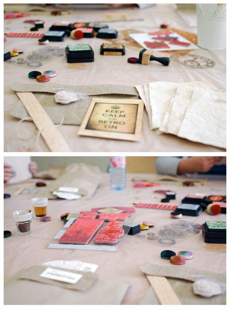 The preparations to take&make