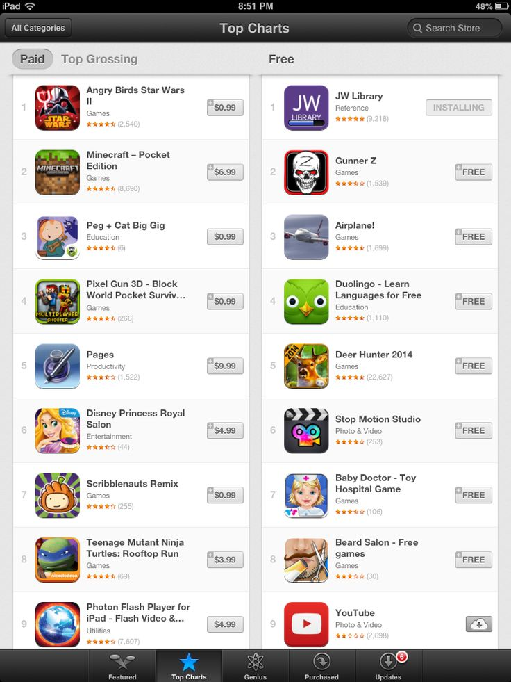 Jw Library App is #1!!!!!! 7 million people can't be wrong.