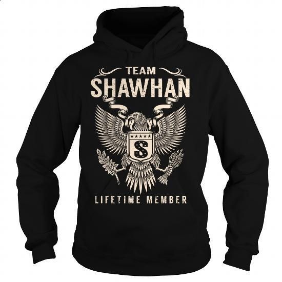 Team SHAWHAN Lifetime Member - Last Name, Surname T-Shirt - #gift for women…  https://www.birthdays.durban