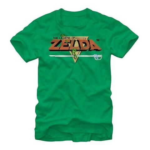 Nintendo Original Zelda Title Custom,Men's Adult T-Shirt,Men's Gildan T-shirt,Custom T-shirt,Cheap T-shirt,T-shirt Print,Cheap Tees