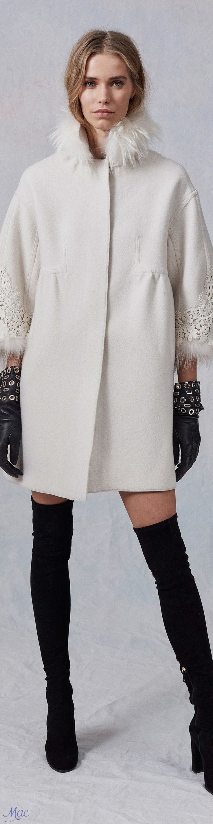 love the details on this--Pre-Fall 2017 Ermanno Scervino