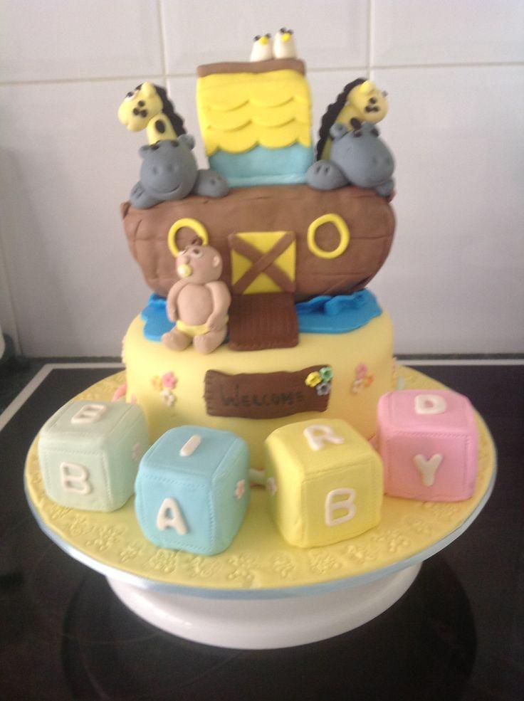 best redmond baby shower ideas images on   noah ark, Baby shower invitation