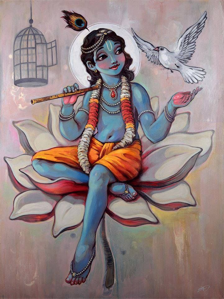 Krishna... liberates you from the wordly detachment