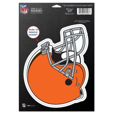 """Cleveland Browns Official NFL 6"""""""" x 9"""""""" Car Magnet Browns by Wincraft 837165"""