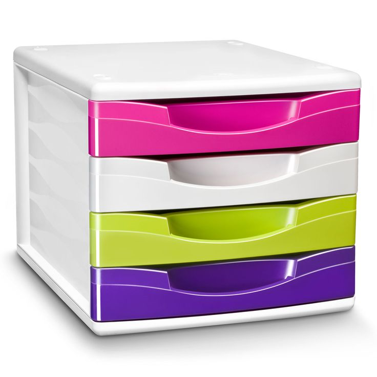 cep cepbox gloss bloc de classement 4 tiroirs multicolore 1008940381 achat vente