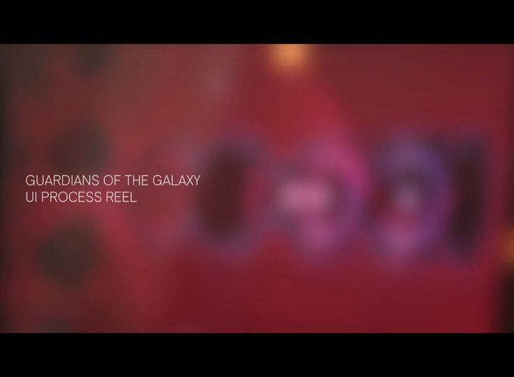 Guardians of the Galaxy UI time-lapse 01 on Vimeo