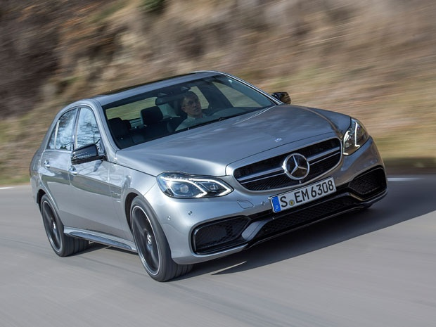 The new 2014 Mercedes-Benz E 63 AMG S-Model is a grenade on wheels. #cars