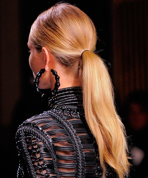 Haute Couture para pelo la tendencia de Balmain a la que no te resistirás