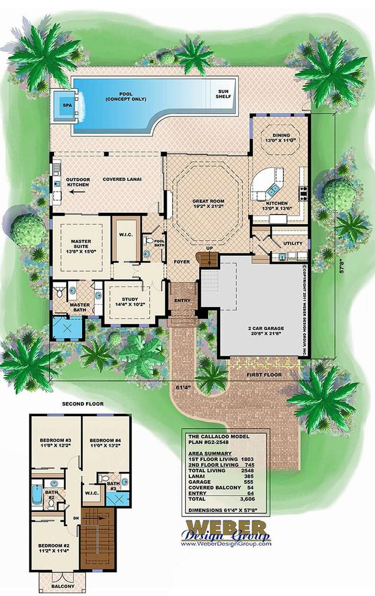 Key West style house plans typically feature raised foundations, shady porches, and numerous windows to allow the air to move freely throughout the house. Oftentimes, Key West style house plan will feature a cupola to release warm air and an open concept floor plan.