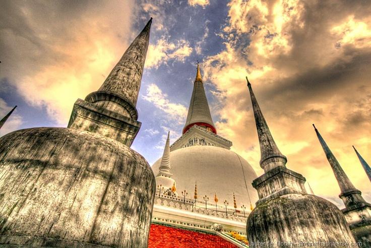 Wat Phra Mahathat Chedi - Nakhon Si Thammarat Thailand