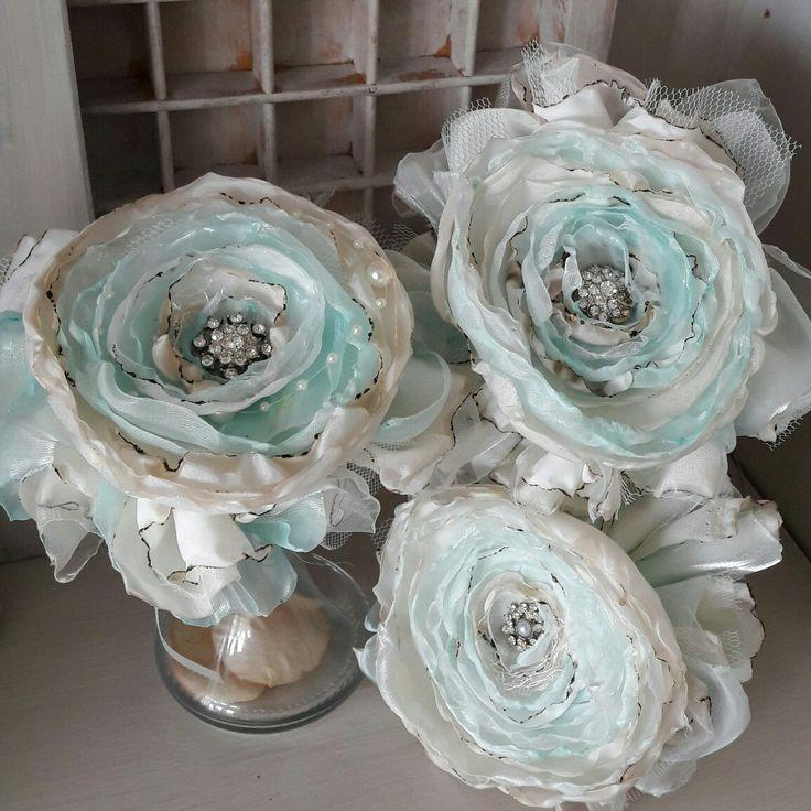 Handgemaakte bloemen voor Shabby decoratie