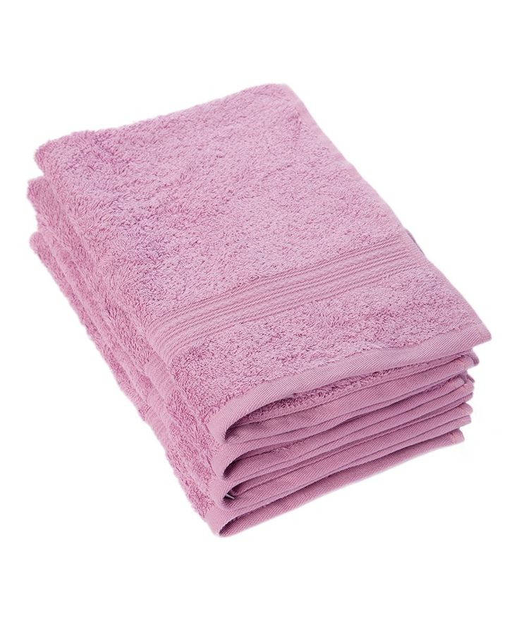 Mulberry Purple 28'' Hand Towel - Set of Four