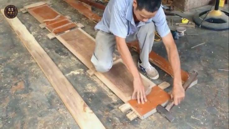 この才能のある大工が古い木製のドアを新しいものに変える方法を見てみましょう!