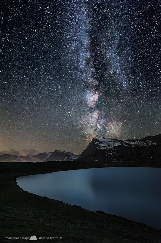 Milky Way. It's on my bucket list to go somewhere where there is sufficient darkness at night to see the Milky Way like this!!
