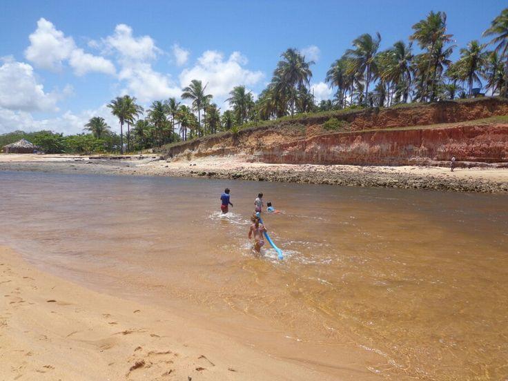 Barra do cahy Cumuruxatiba Bahia