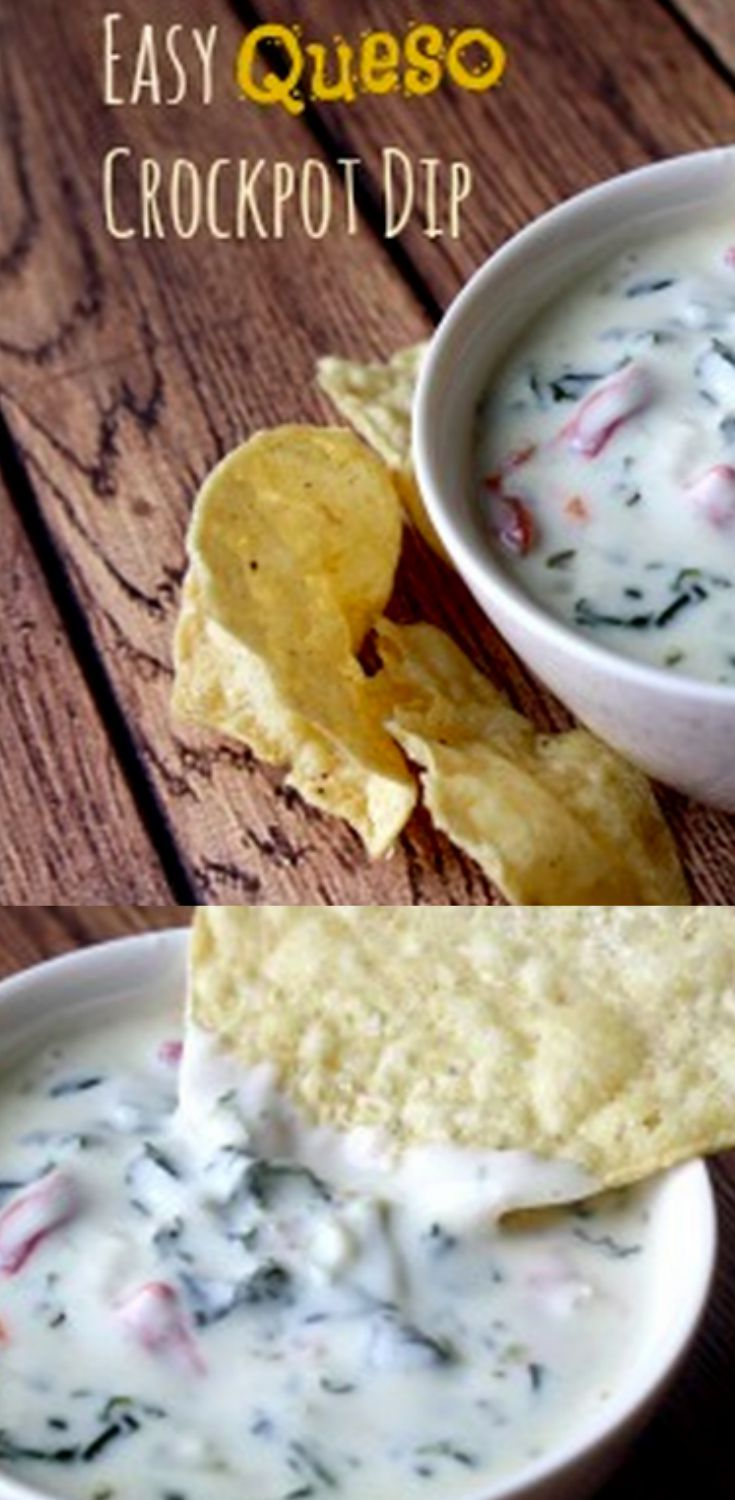 This queso dip is perfect for feeding a crowd and even has a few surprise ingredients, too! See the surprises and how to whip it up for your next party planning event.