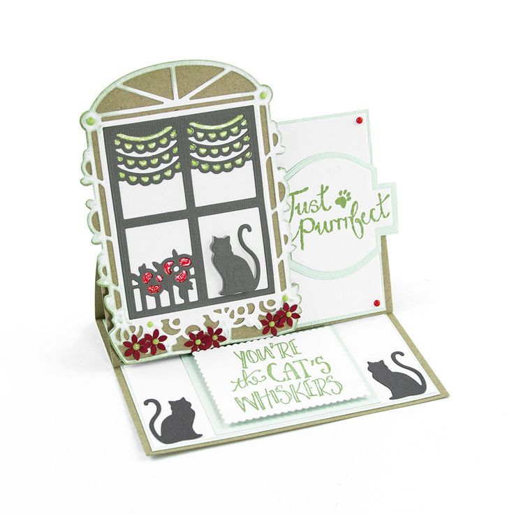 This is one of the two die sets in the Rococo Pampered Pets range (Toby's Sill 1197e & Harvey's Ledge 1198e). Each set contains 7 dies a piece, but both are perfectly interchangeable with each other. With both being so interchangeable, the value for money, options and choices for these products is better than ever. Rococo Pampered Pets