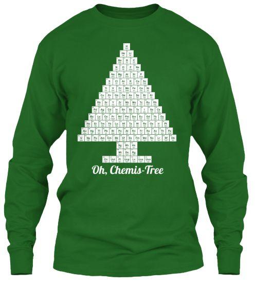 Oh, Chemis-tree! Chemistry Science Shirt