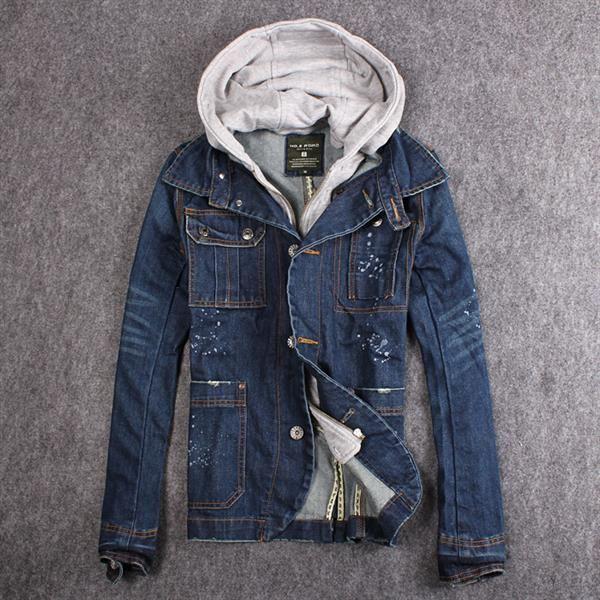 Джинсовые мужские куртки и пиджаки