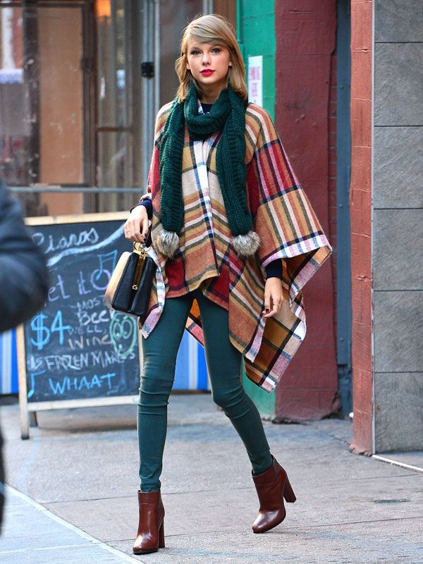Love this outfit! Taylor Swift Street Style 2014 - Taylor Swift New York Fashion - Marie Claire