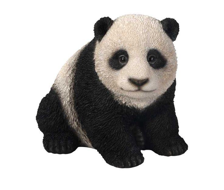 Captivating Vivid Arts Nf Pnda B Panda Resin Ornament Garden Patio Frost Resistant  Suitab