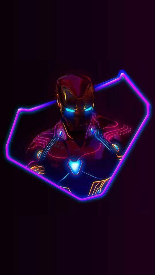Iron man Fluorescente