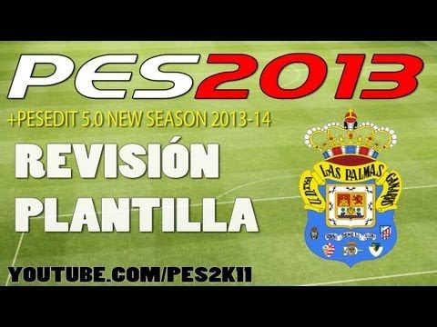 Revisión UD Las Palmas + PESEDIT 5.1 Season 2013-14 / Review