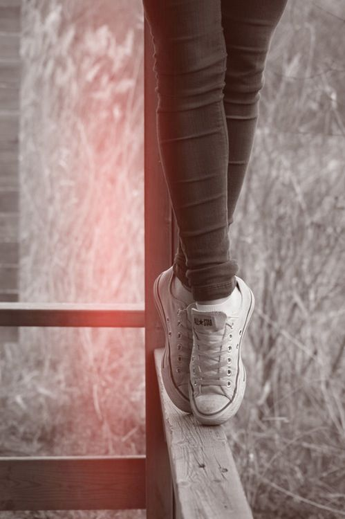 Pointe #converse