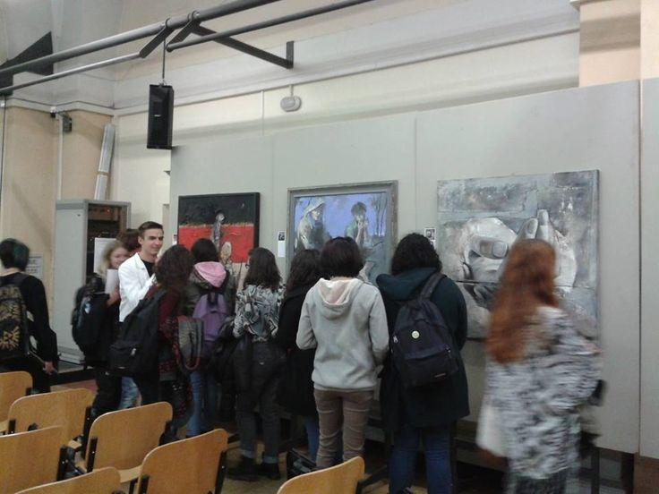 Aula magna del liceo artistico Toschi, Parma