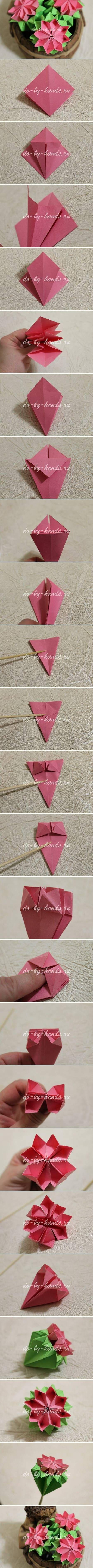 Flores de papel - Blog Pitacos e Achados - Acesse: https://pitacoseachados.wordpress.com - https://www.facebook.com/pitacoseachados - #pitacoseachados Mais
