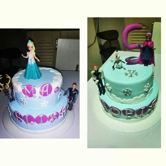 #frozen #paulisbakery #cake
