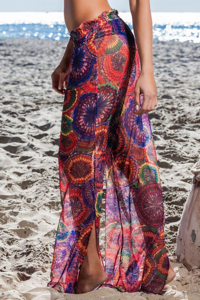 Sheer beach pants! | Bikini & Beach Chic | Pinterest