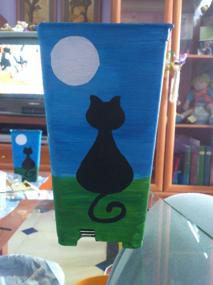 Macetas pintadas