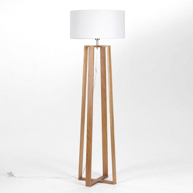 Como hacer una lampara de pie de madera buscar con - Lamparas de pie rusticas de madera ...