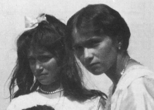 Current ObsessionGrand Duchesses Maria Nikolaevna and Olga Nikolaevna of Russia