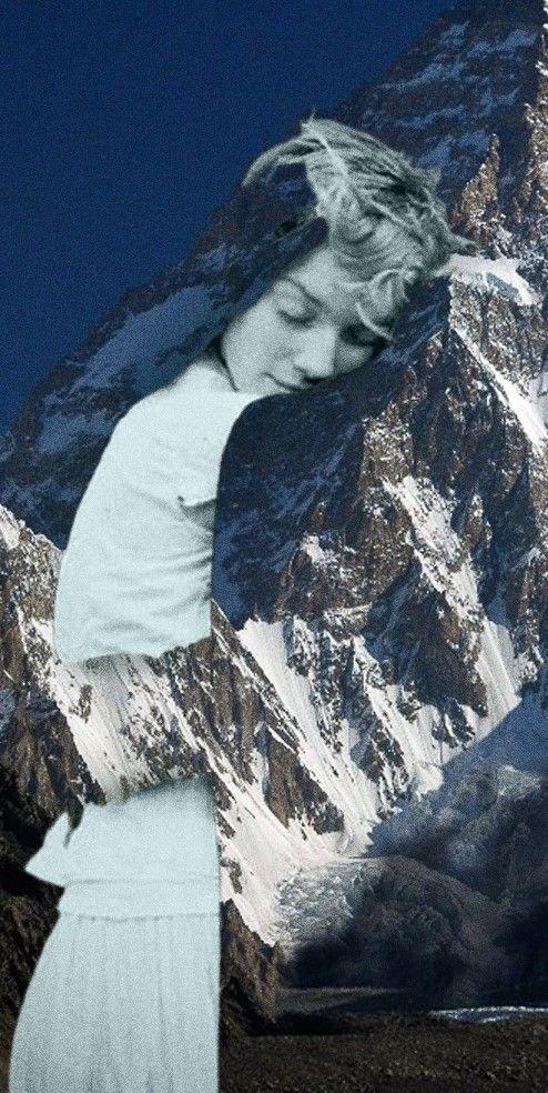 embraced the mountain by dccanim.deviantart.com on @DeviantArt