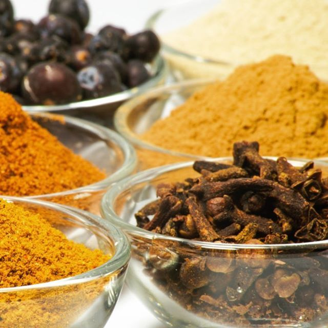 A sea of spices... what's your favorite Indian spice to cook with?