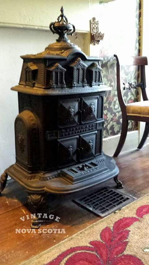 294 Best Old Stoves Images On Pinterest Wood Burning