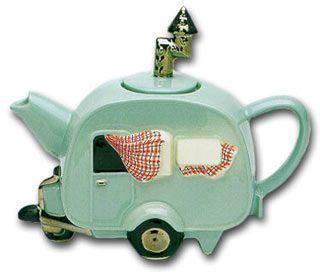 'CARAVAN' Collectable Teapot. Want want want!