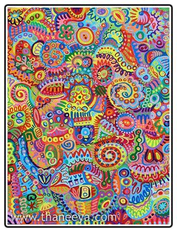 Thaneeya McArdle :: Abstract Gallery :: Frenetic Whispering