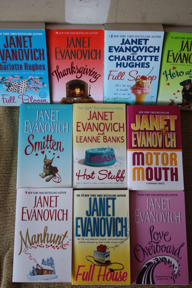 12 Janet Evanovich books / Janet Evanovich novels softcover by TheKindLady on Etsy